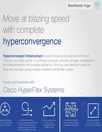 MOVE AT BLAZING SPEED WITH COMPLETE HYPERCONVERGENCE
