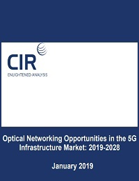 OPTICAL NETWORKING OPPORTUNITIES IN THE 5G INFRASTRUCTURE MARKET: 2019-2028