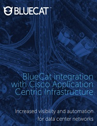 BLUECAT INTEGRATION WITH CISCO APPLICATION CENTRIC INFRASTRUCTURE