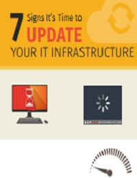 7 SIGNS ITS TIME TO UPDATE YOUR IT INFRASTRUCTURE