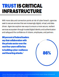 TRUST IS CRITICAL INFRASTRUCTURE